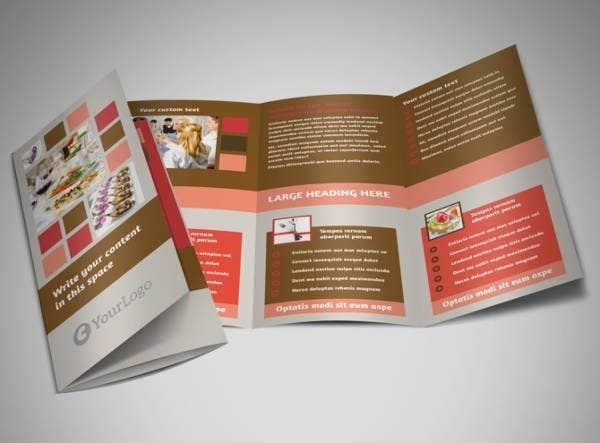 catering event management brochure