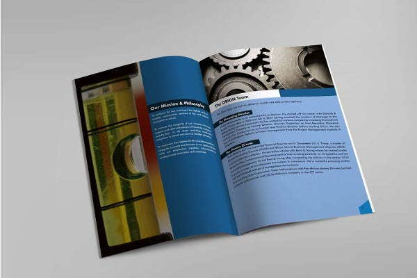 construction event management brochure