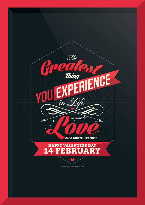 valentine-day-poster-card-design