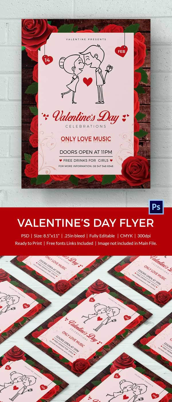 valentines day flyer 3 600