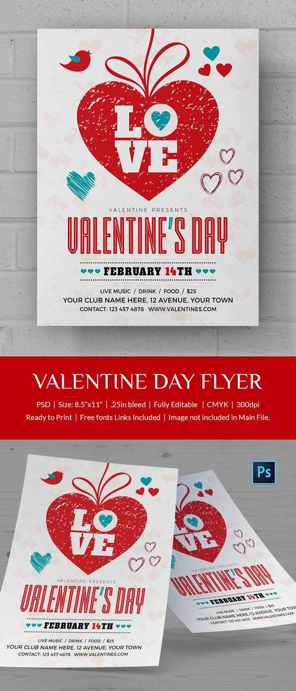 valentines day flyer 4 600