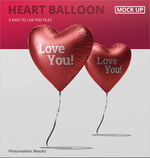 valentine-heart-balloon-mockup