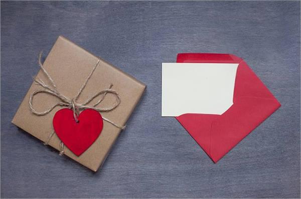 free valentines day mockup