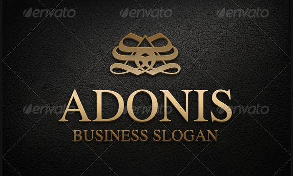 Typography Monogram Logo