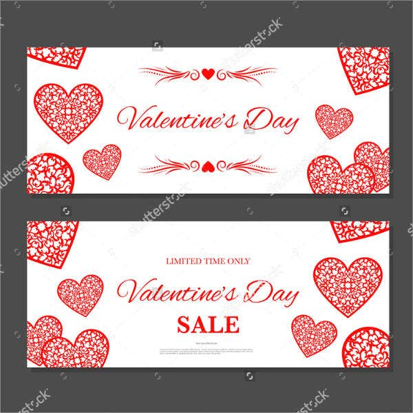 ValentineS Day Coupon Templates  Psd Vector Eps Indesign