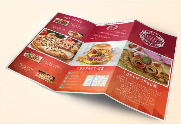 design-restaurant-food-brochure