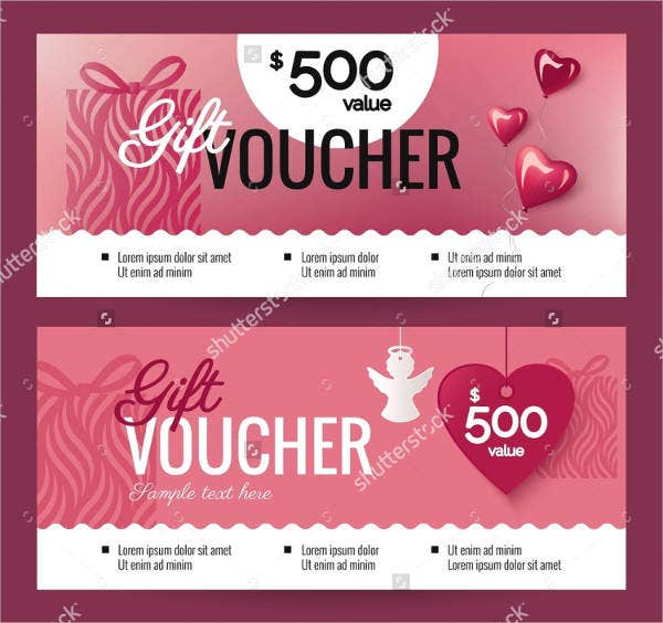 7 Valentine S Day Coupon Templates Psd Vector Eps Indesign