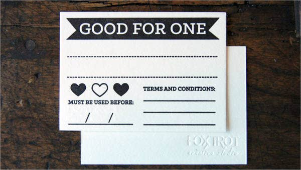 valentines day coupon templates