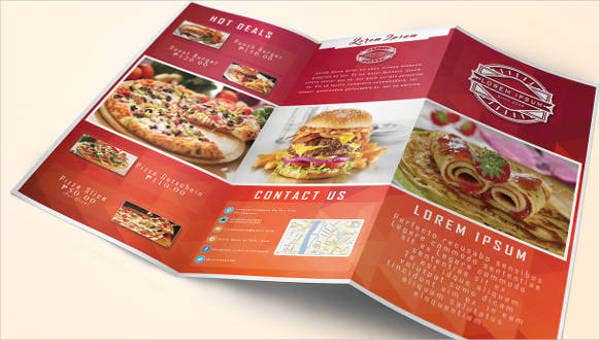 17+ Restaurant Food Brochures - Printable PSD, AI ...