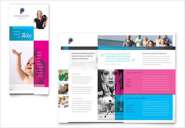 7 photography business brochures designs templates free