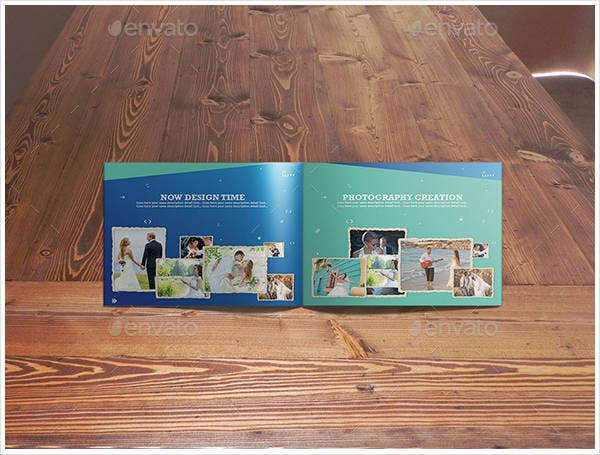 corporate photography business brochure template