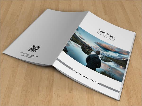 photographer portfolio business brochure