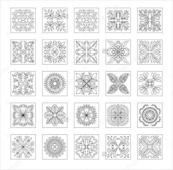 8 pyrography patterns free premium templates for Pyrography templates free