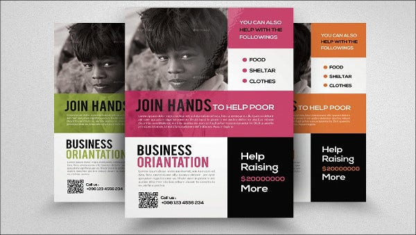 charity business event brochure1