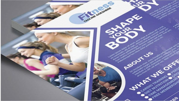 fitness center flyers2