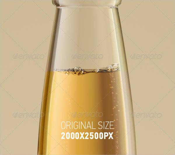 beer bottle neck label template