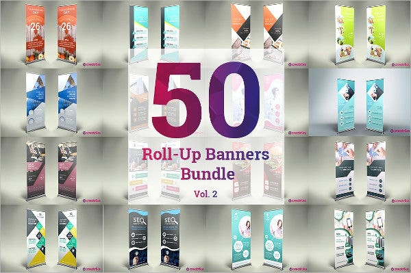 50 roll up banners bundle2