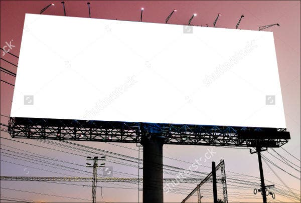 outdoor business display banner