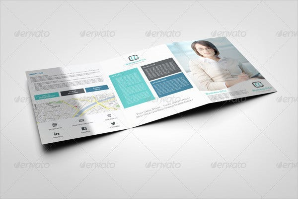 Multipurpose Advertising Tri-fold Brochure