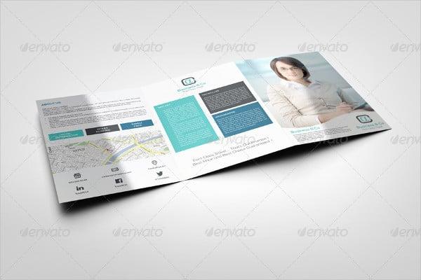 multipurpose advertising tri fold brochure