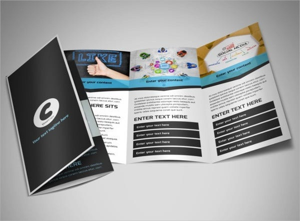 advertising brochure templates - 7 advertising tri fold brochures designs templates