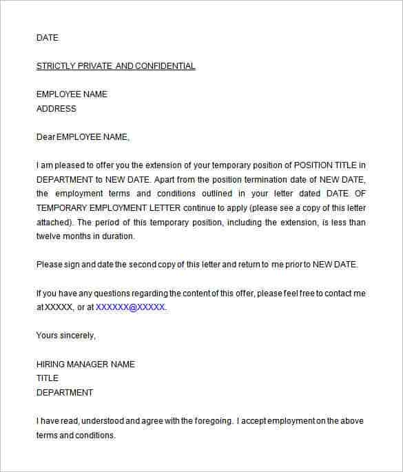 Offer Letter Templates PDF DOC Free Premium Templates - Offer of employment letter template free