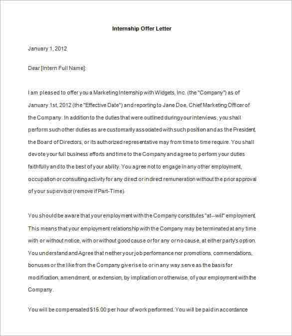 Offer letter template 70 free word pdf format free premium like any other post in a company has certain terms and conditions you could convey these terms with the help of this joining letter format in word spiritdancerdesigns Gallery