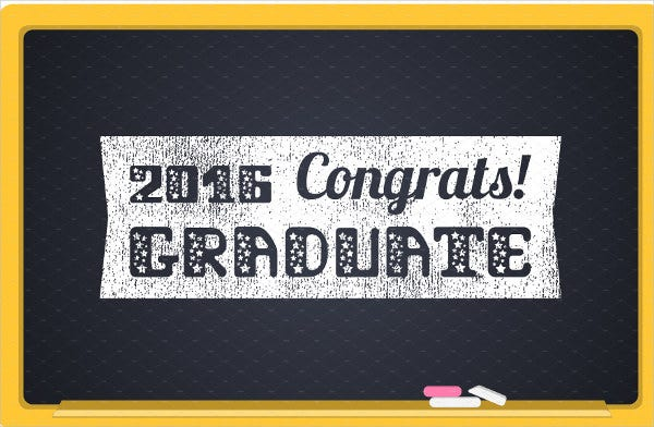graduation congratulations party banner