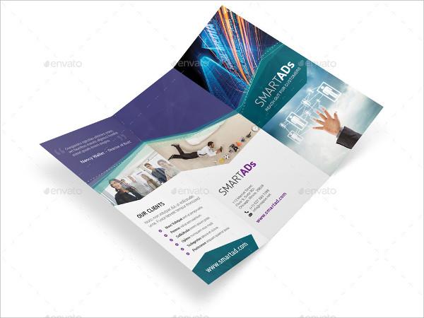 advertising agency tri fold brochure7