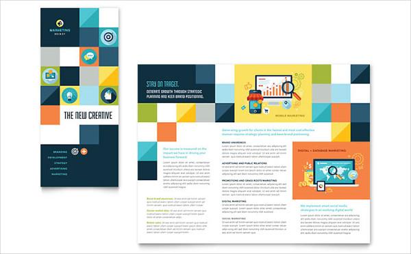 advertising company tri fold brochure4