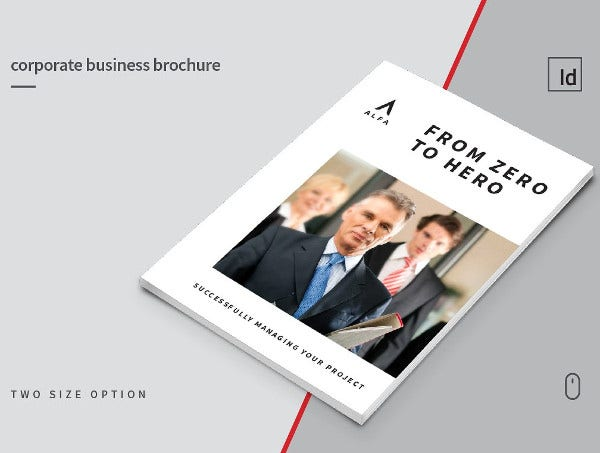 Corporate Management Consulting Brochure