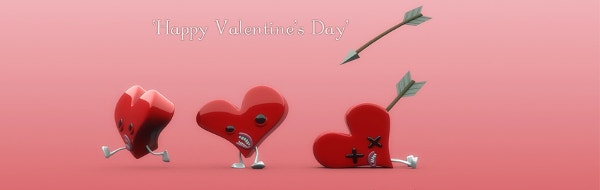 funny valentines day facebook cover