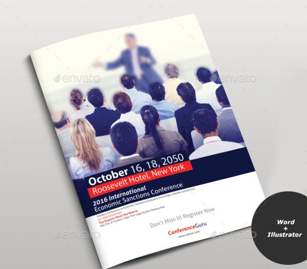 Corporate Management Conference Brochure