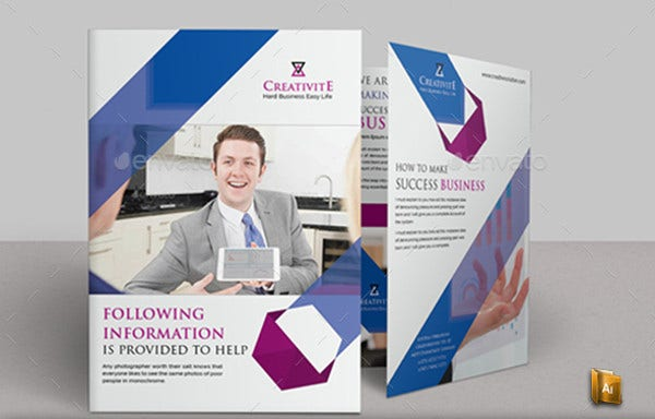 Corporate Business Management Brochure