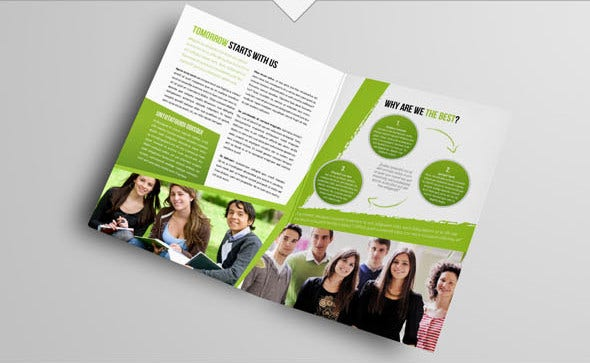 Corporate College Management Brochure