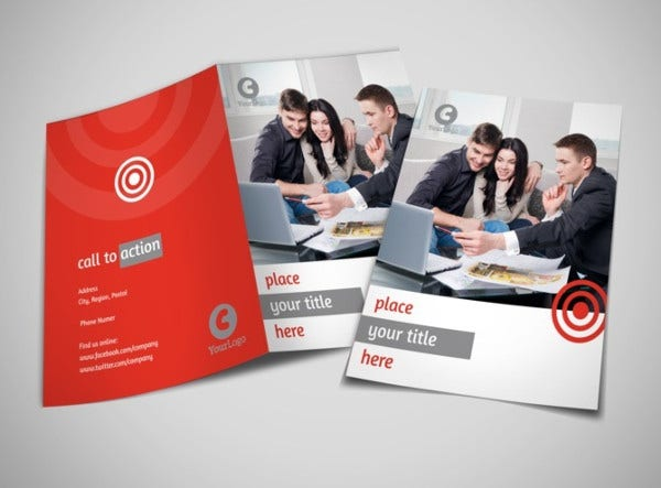 Corporate Management Bifold Brochure