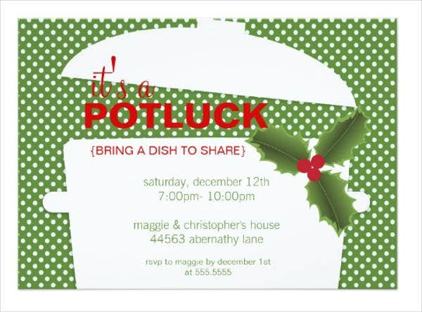 potluck-christmas-party-invitation