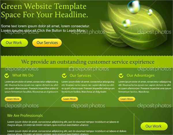 outdoor business website banner