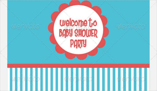 chevron-baby-shower-party-banner