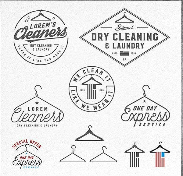 dry-cleaning-business-logo