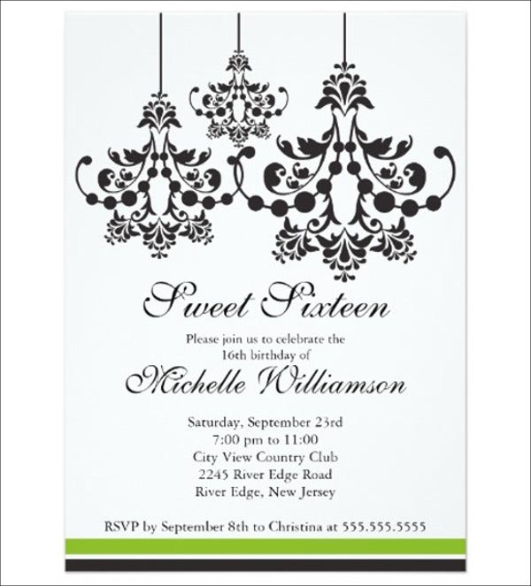 Formal Party Invitations  Designs Templates  Free  Premium