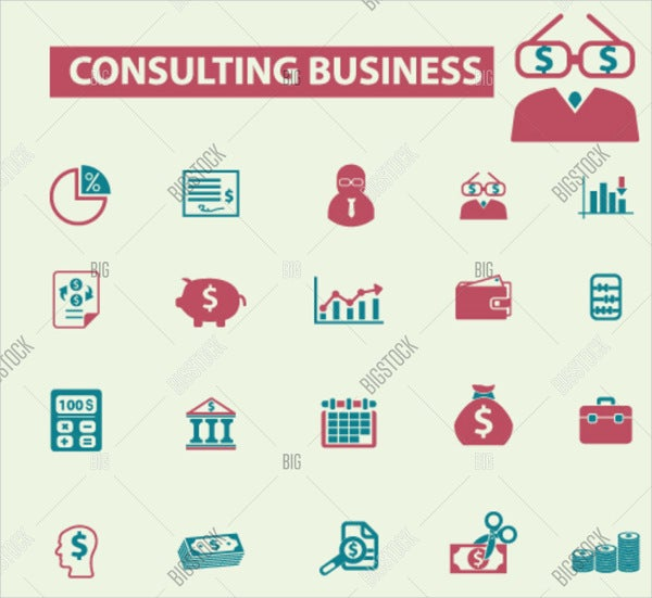 business accounting consultant logo