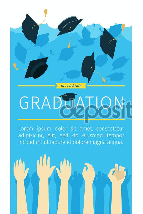 outdoor graduation vertical banner1