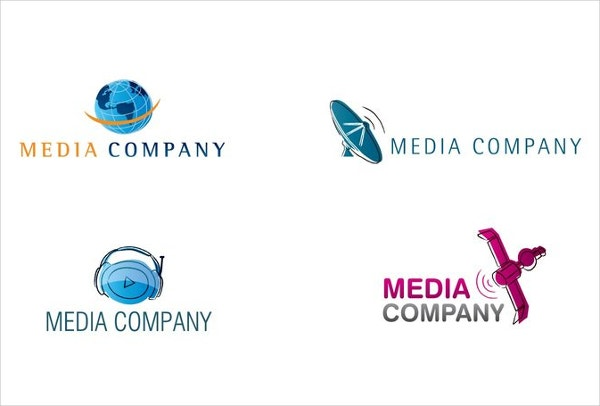 movie and media logo design