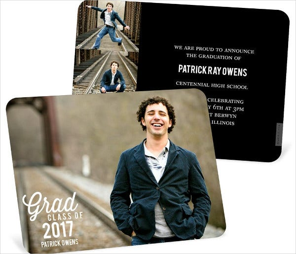 Personalized Graduation Photo Invitation