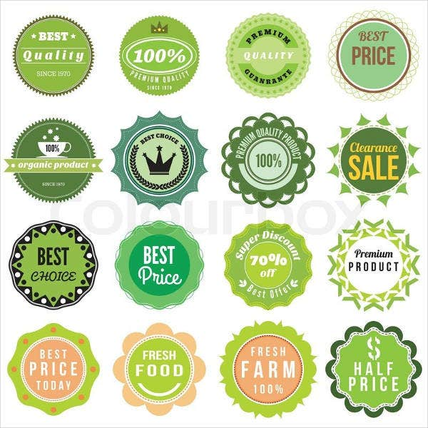 7+ Food Product Label Templates - Design, Templates | Free