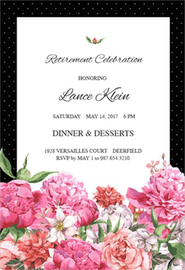 retirement-party-invitation-with-photo