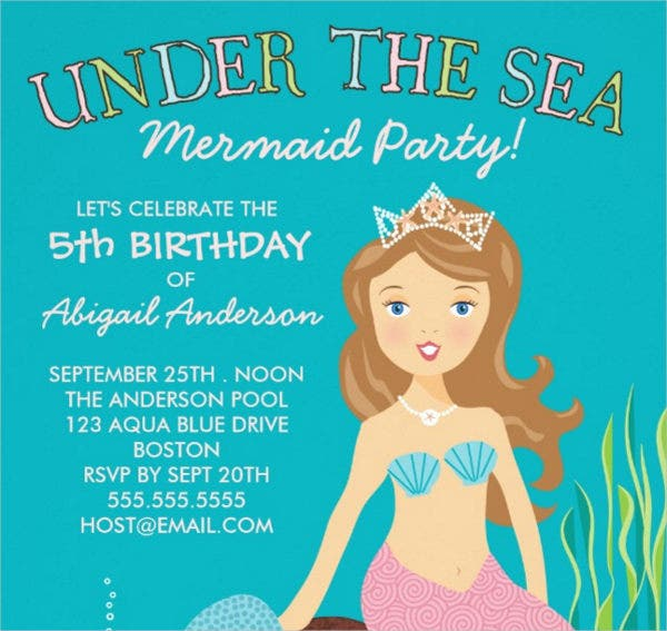 princess-pool-party-invitation