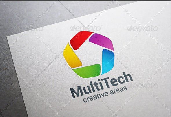 corporate business technology logo
