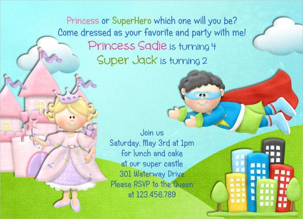 princess-superhero-party-invitation